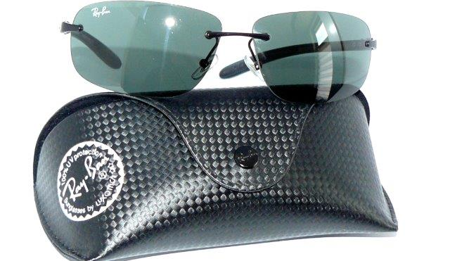 ray ban rb 8303 002 sonnenbrille carbon schwarz light tech. Black Bedroom Furniture Sets. Home Design Ideas
