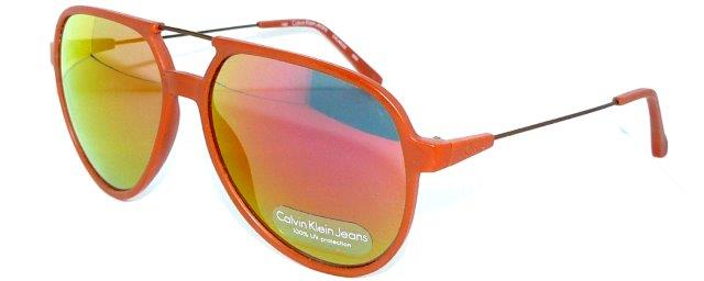 calvin klein sonnenbrille ckj402s verspiegelt orange 4025 jeans brille etui neu ebay. Black Bedroom Furniture Sets. Home Design Ideas