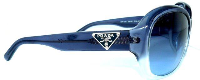 prada sonnenbrille spr10m blau wappen logo brille sps07f. Black Bedroom Furniture Sets. Home Design Ideas