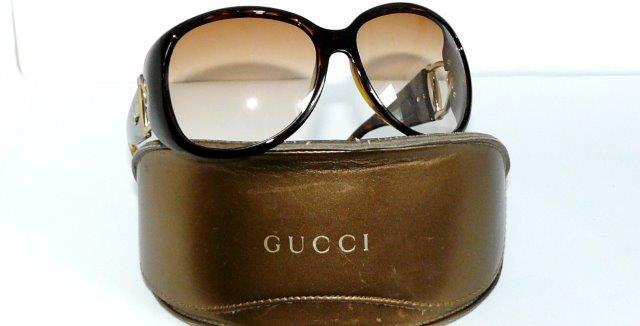 gucci sonnenbrille gg 2942 gold braun premiere damen. Black Bedroom Furniture Sets. Home Design Ideas