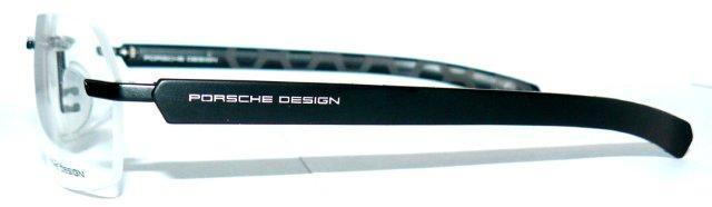 porsche design 8202 b brille randlos s1 waben schwarz 8232. Black Bedroom Furniture Sets. Home Design Ideas