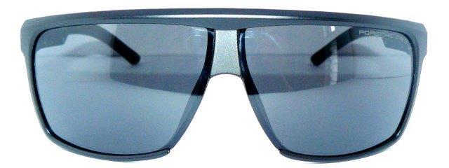 porsche design 8597 e a sonnenbrille schwarz blau tasche. Black Bedroom Furniture Sets. Home Design Ideas