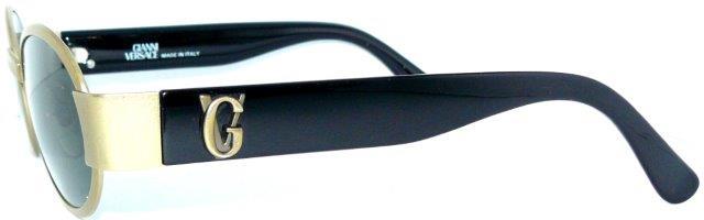 gianni versace sunglasses s48 gold medusa glasses bag. Black Bedroom Furniture Sets. Home Design Ideas